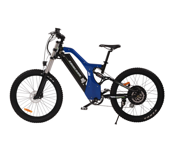 Mountain EBike in Blue