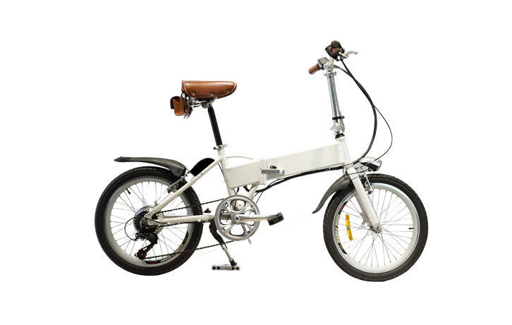 Mini EBike in White